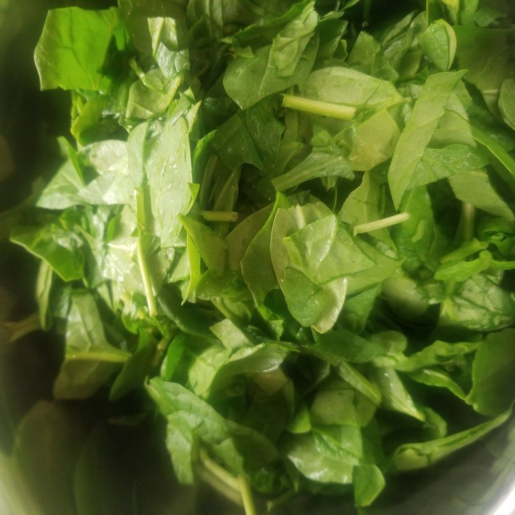 add spinach to instant pot