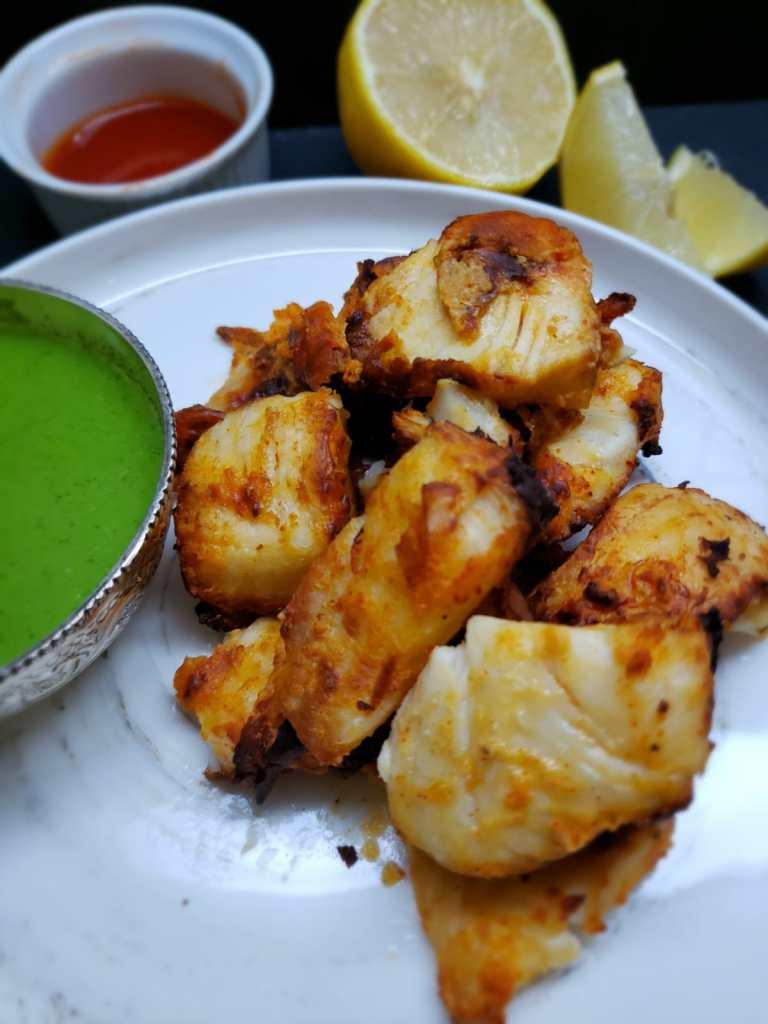 amritsari fish tikka