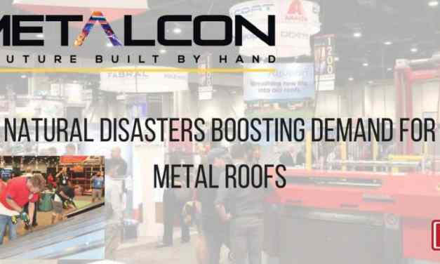 Natural Disasters Boosting Demand for Metal Roofs