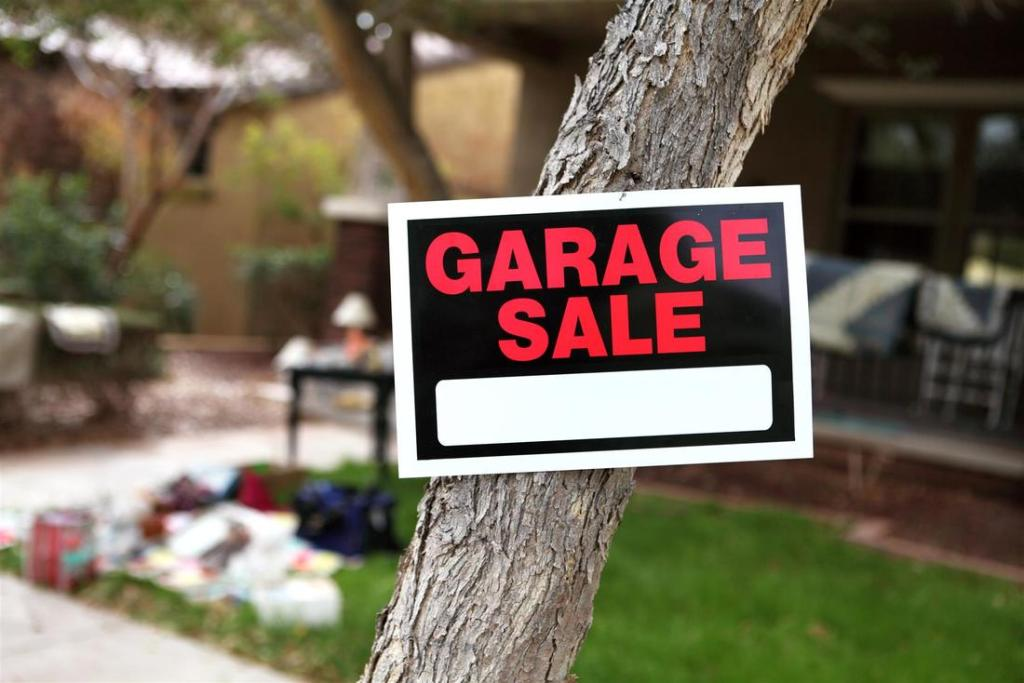 What to Do Before a Garage Sale