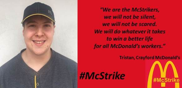 Mcstrike Ballot For Strike Action At Six Mcdonald S Stores Across