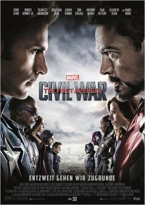 The First Avenger Civil War Poster