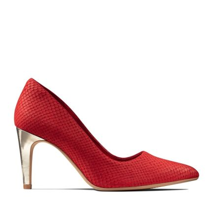 Laina Rae Red Interest Nubuck Dress Shoes