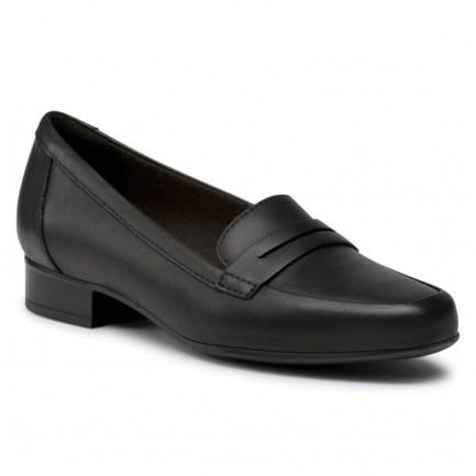 Juliet Coast Black Leather