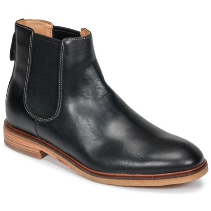 Clarkdale Gobi Black Leather