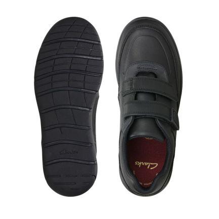 Venture Walk Black Leather