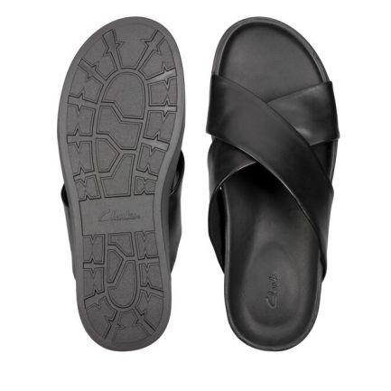 Sunder Cross Black Leather