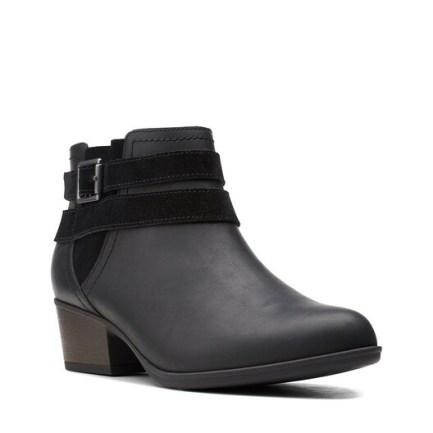 Adreena Show Black Leather