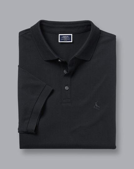 Pique Polo - Black
