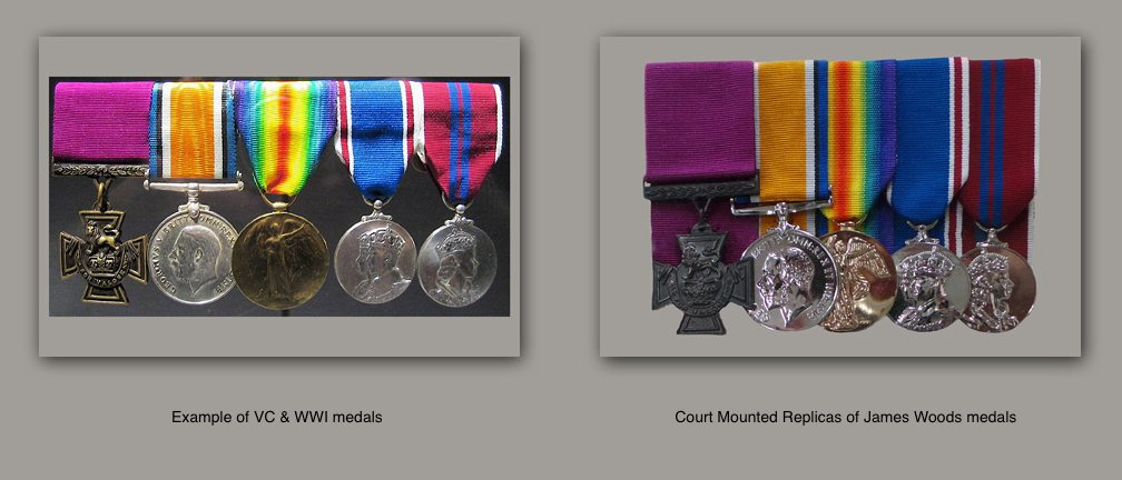 Woods medals comparison 1