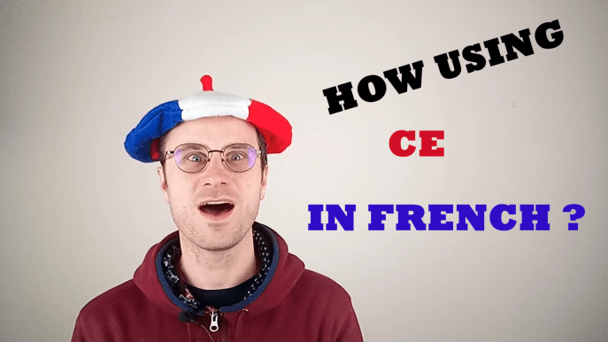 ce in french