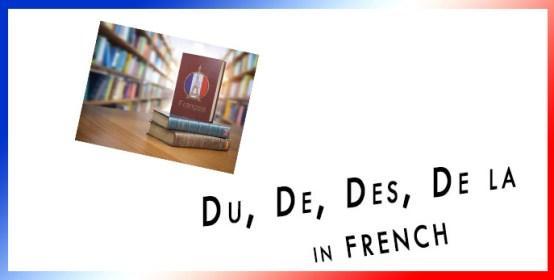 Du De Des De la in FRENCH