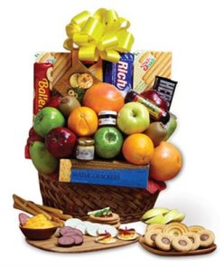 Fruit Gourmet Snack Basket