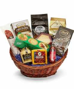 Gourmet Deluxe Gift Basket