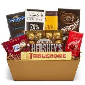 Chocolate Lovers Birthday Basket