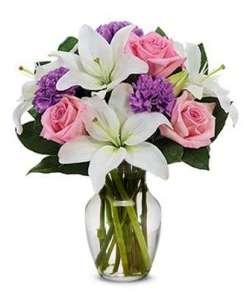 Perfect Pastel Flower Bouquet