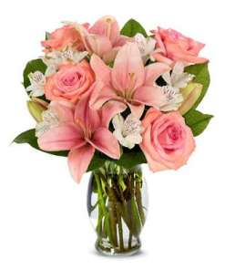Pink Perfection Flower Bouquet
