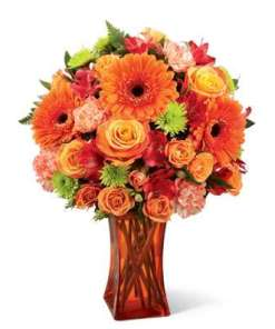 Vibrant And Bright Flower Bouquet