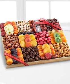 The Best Holiday Dried Fruit, Nuts & Sweets Tray 79.99