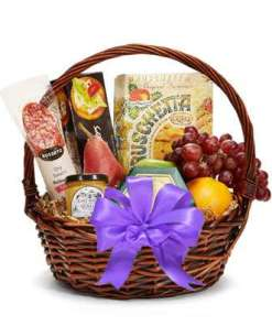 Lavender Bliss Fruit and Gourmet Gift Basket 54.99