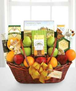 Luxury Fruit and Cheese Gourmet Basket 109.99