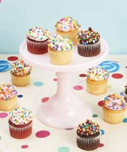 Mini Gourmet Birthday Cupcakes