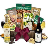 Premier Selections Wine Gift Basket 124.99