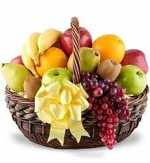Natures All Fruit Gift Basket
