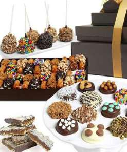 Deluxe Belgian Chocolate Covered Gift Tower 74.99