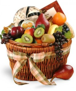 Delightful Combinations Fruit Gourmet Gift Basket