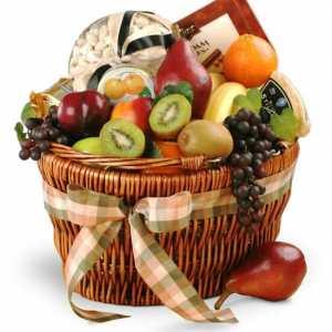 Delightful Combinations Fruit Gourmet Gift Basket