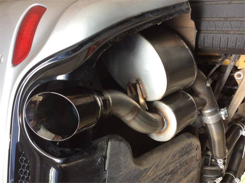 corsa sport cat back exhaust black jeep grand cherokee 6 4l srt 2012 2021