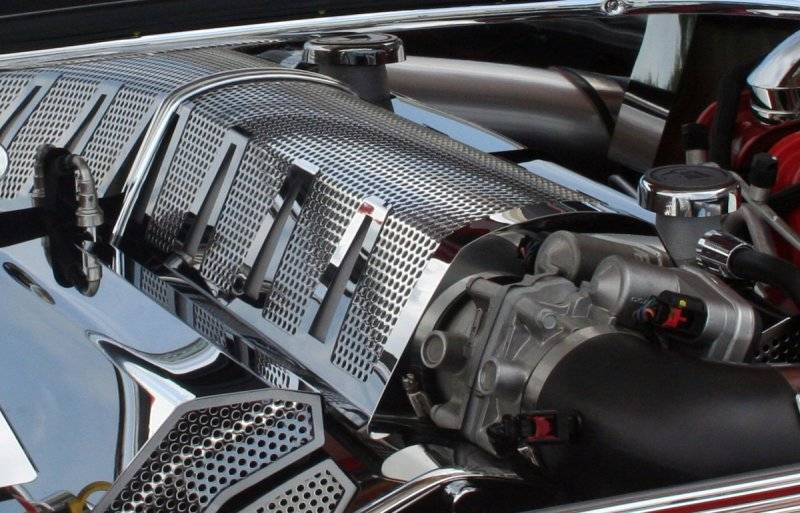 American Car Craft Perforated Plenum Cover Chrysler 300C