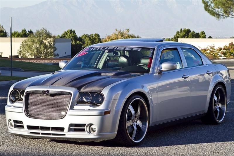 TruCarbon A58 Carbon Fiber Hood Chrysler 300 300C 2005
