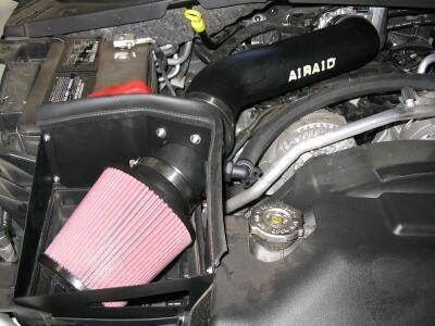 AirAid Cold Air Intake Dodge Durango 57L Hemi 2004 2008