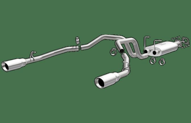 magnaflow exhaust system dodge ram 5 7l hemi 1500 2019 2021 excludes tradesman