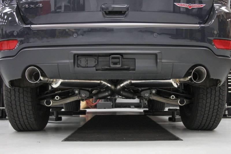 hooker blackheart exhaust system jeep grand cherokee 5 7l hemi 2011 2021