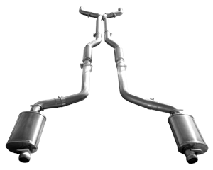 american racing headers cat back exhaust system dodge challenger 2008 2014 5 7l 6 1l 6 4l