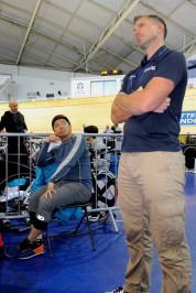 Coach Lee Povey – UCI Track Masters World Championships 2015