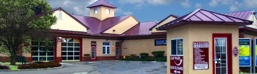 Exterior photo of Fast Lane Oil Change and Car Wash in Brewster, NY