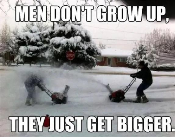 Men that don't grow up