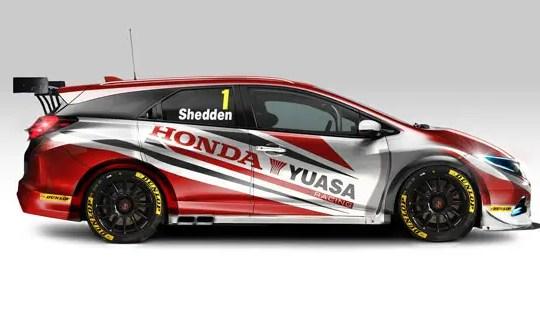 Honda Civic BTCC 2014