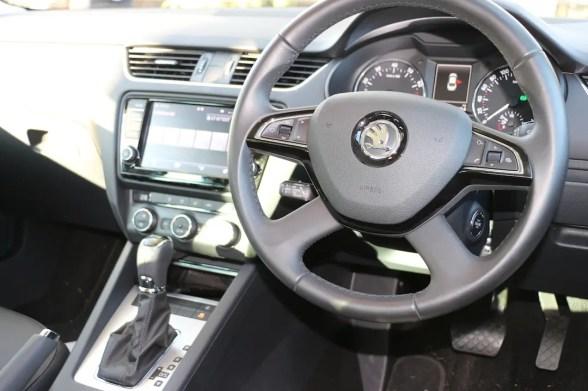 Skoda Octavia Drivers Seat