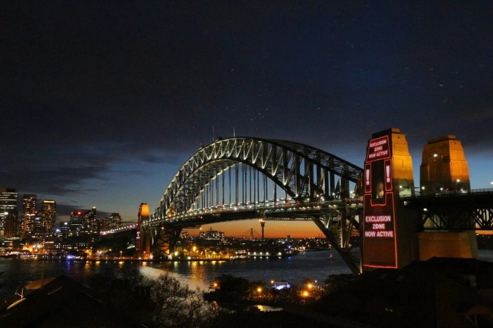 Sydney Harbour Bridge sans Bats