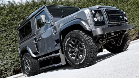 KAHN Military Land Rover Defender