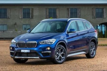 BMW X1 Full Car Inc Side Profile