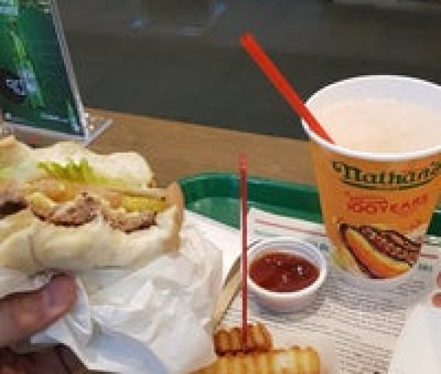 Photo Taken At Nathans Famous By Martin Jude G On