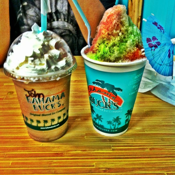 Bahama Bucks Ice Cream Shop In French Creek