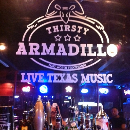 Photo Taken At Thirsty Armadillo By Sushi C On