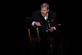 JERRY LEWIS concert at Bergen Performing Arts Center in Englewood New Jersey 4 4 2013 John Barrett/Globe Photo 2013